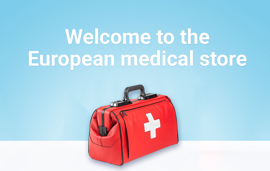 Welcome to the European medical store