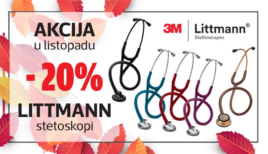 Svi Littmann stetoskopi uz 20% popusta