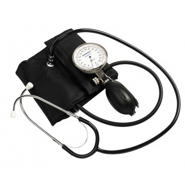 Riester Sanaphon® Sphygmomanometer with a built-in stethoscope