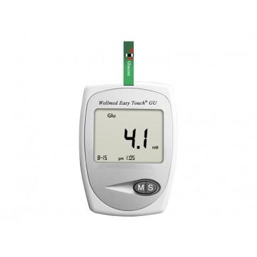 Wellmed Glucose Meter GU, Glucose, Uric Acid