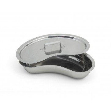 Kidney dish with a lid, Ø 200mm, 400 ml