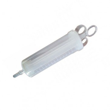 Ear syringe, plastic, 150 ml