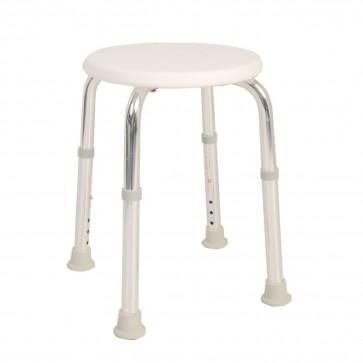 Round shower stool
