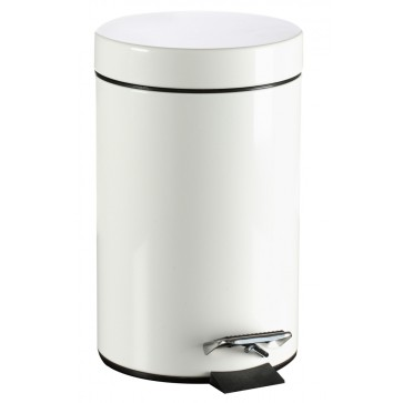 Trashcan, stainless steel, 14L