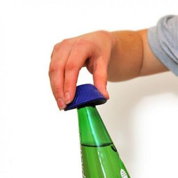 Silikonski otvarač za boce - pomoć starijim osobama | PLAVI