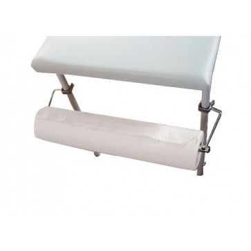 Paper roll holder for Rexmoebel examination tables