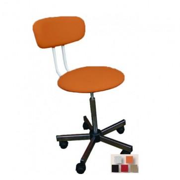 Narančasta laboratorijska stolica