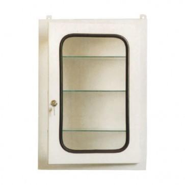 Ormarić za kemikalije ili lijekove staklena vrata 50x30x70cm