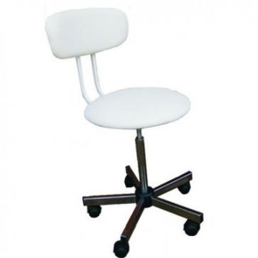 Laboratorijski stolac s naslonom