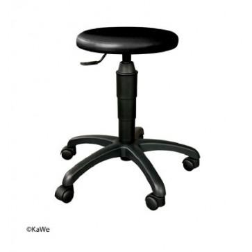 Stolac na okretanje s okruglim sjedalom KaWe | Crni