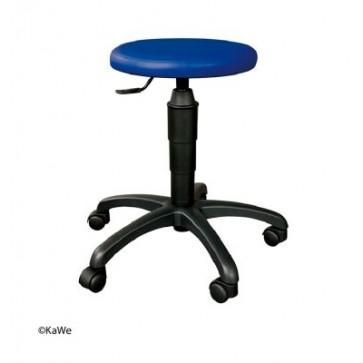 Stolac za okretanje s okruglim sjedalom Kawe plavi