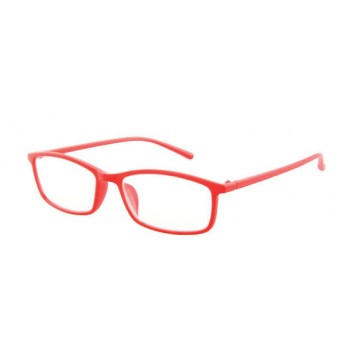 Reading glasses Light, red; Diopters: +1, +1.50, +2, +2.50, +3 and +3.50