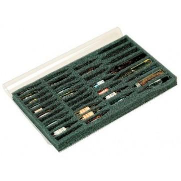 Bollmann Ampoule holder, sponge, black, for 37 ampoules