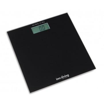 Digital bathroom scale - black