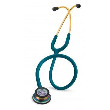 Classic III Special Series Littmann Stethoscope, 5807 Caribbean Blue/Rainbow