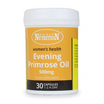 Evening Primrose Oil 500 mg (Omega-6)