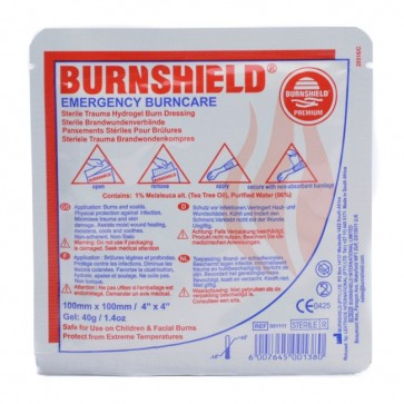 Burnshield pjenasta obloga za opekline   100 x 100 mm
