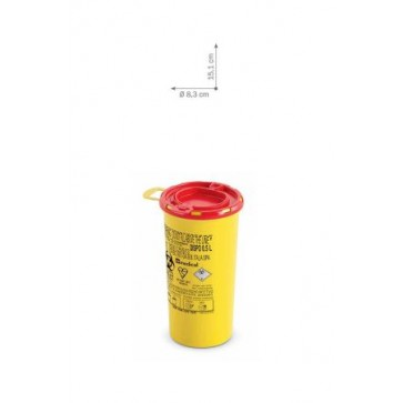 Plastični spremnici za odlaganje igala i infektivnog otpada   DISPO LINE-0,5 l