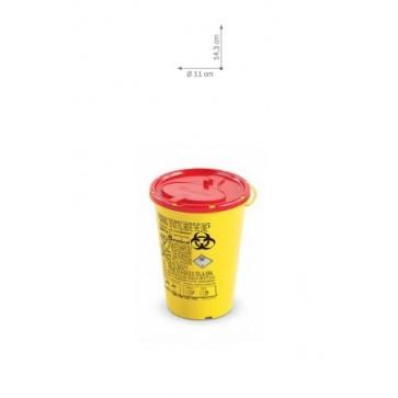 Plastični spremnici za odlaganje igala i infektivnog otpada   DISPO LINE-0,7 l