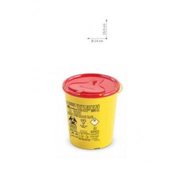 Plastični spremnici za odlaganje igala i infektivnog otpada   DISPO LINE-1,5 l