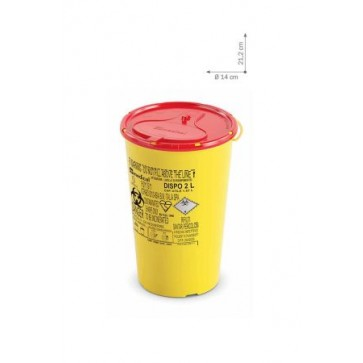 Plastični spremnici za odlaganje igala i infektivnog otpada   DISPO LINE-2 l