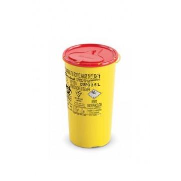 Plastični spremnici za odlaganje igala i infektivnog otpada   DISPO LINE-2,5 l