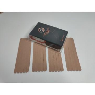 Kineziološke trake | unaprijed profesionalno izrezane | oblik ŠAPA - 4 komada | bež