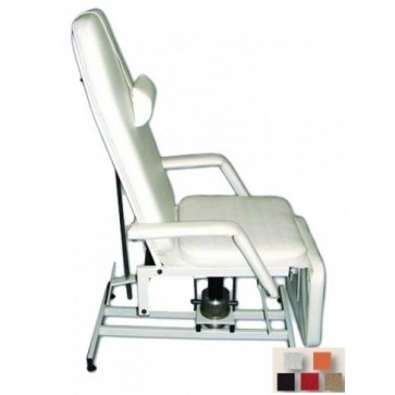Rexmobel hydraulic treatment chair, White (Delivery within 10 days)