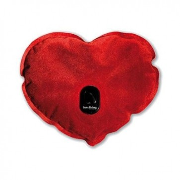 Heart shaped electric warmer