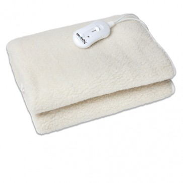Electric blanket, single-sided, artificial wool, 150 x 80 cm