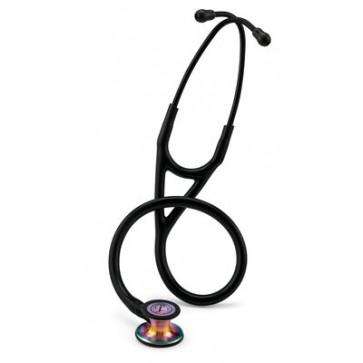 3M™ Littmann® Cardiology IV™ Stethoscope 6165 Black/Rainbow