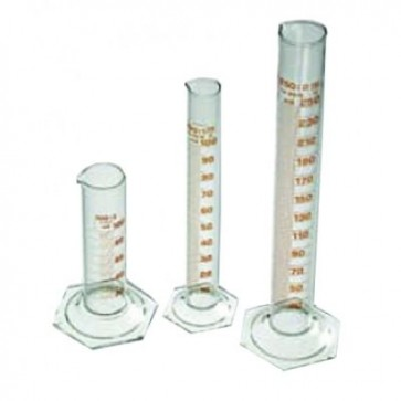 Graduated Cylinder, glass mount, 100ml (Delivery within 10 days)