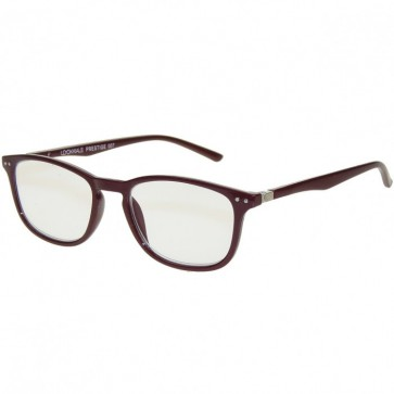 Reading glasses Prestige, unisex, burgundy; Diopters: +1, +1.50, +2, +2.50, +3 and +3.50