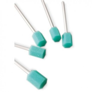 DERMARAYS+ Sticks - Disposable Oral Care Swabs