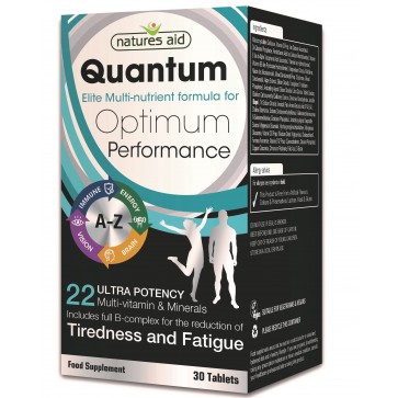 Quantum Ultra Potency Multi-Vitamins and Minerals