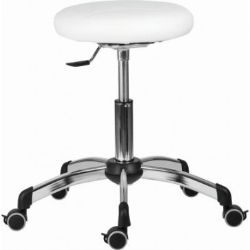 1030 Zon Medica working stool, white (Delivery within 5 days)