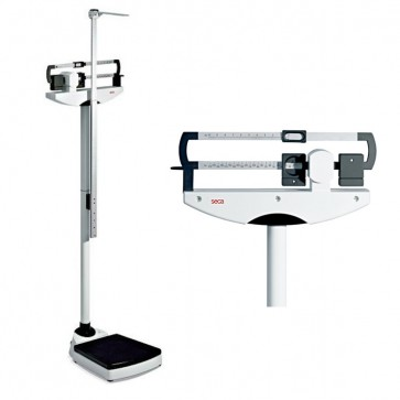 Seca 700 Mechanical Column Scales with Stadiometer