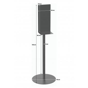 Samostojeći metalni stalak za SSGD dozator