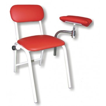 Rexmobel blood donor chair, burgundy (Delivery within 10 days)