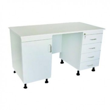 Doctor's table, white (Delivery within 10 days)