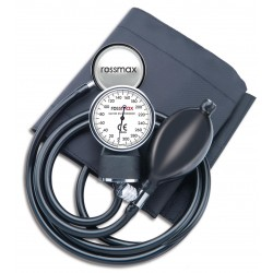 Rossmax GB102 Aneroid sphygmomanometer with a stethoscope, requires 2 hands to use