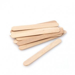 Tongue depressor, wooden, 100 pcs
