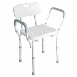 Prilagodljivi stolac za tuširanje s odvojivim naslonima za ruke