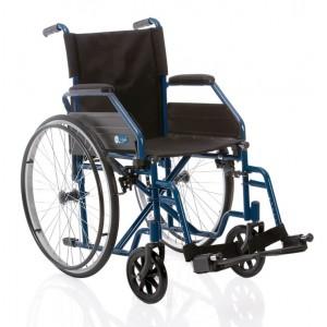 Sklopiva invalidska kolica START | plave boje | širina sjedišta 45 cm