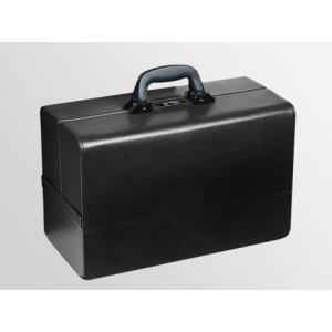 "Bollmann ""Concertina"" Doctor's case, 43x21x32 cm, leatherette, black"