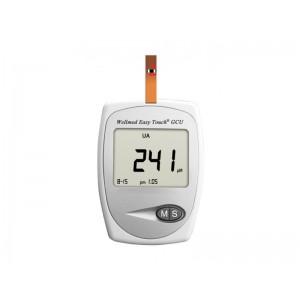 Wellmed Glucose Meter GCU, Glucose, Cholesterole, Uric Acid