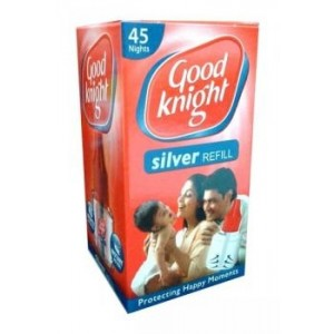 Good Knight Silver biocidni pripravak protiv komaraca | tekuće zamjensko punjenje