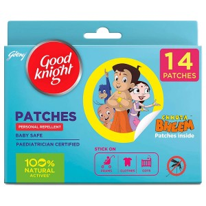 Good Knight Patches | flasteri protiv komaraca | 8 sati učinkovite zaštite od uboda | 14 flastera