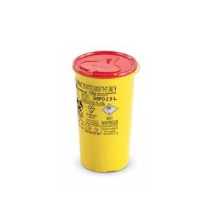 Plastični spremnici za odlaganje igala i infektivnog otpada | DISPO LINE