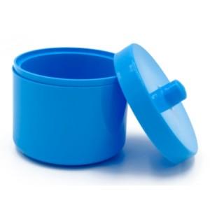 Kutijica za zubnu protezu s poklopcem | plave boje
